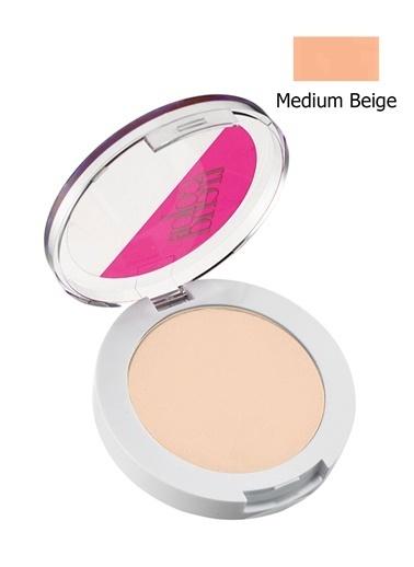 Avon Color Trend Sıkıştırılmış Pudra Medium Beige Ten
